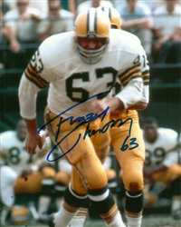 FUZZY THURSTON SIGNED 8X10 PACKERS PHOTO #7