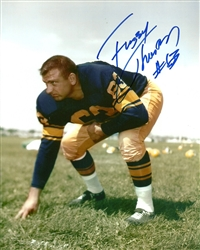 FUZZY THURSTON SIGNED 8X10 PACKERS PHOTO #8