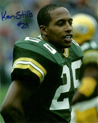 KEN STILLS SR. SIGNED 8X10 PACKERS PHOTO #1