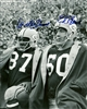 WILLIE DAVIS & ED BLAINE DUAL SIGNED 8X10 PACKERS PHOTO