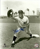 MIKE HEGAN (d) SIGNED YANKEES PHOTO #3