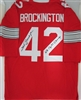 JOHN BROCKINGTON SIGNED CUSTOM OHIO STATE BUCKEYES JERSEY