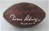 DAVE ROBINSON SIGNED 1960's DUKE FOOTBALL W/ HOF