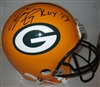 EDDIE LACY SIGNED PACKERS PRO LINE HELMET W/ ROY '13