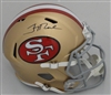 JERRY RICE SIGNED FULL SIZE SF 49ERS REPLICA HELMET - FAN