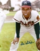 FELIX MANTILLA SIGNED 8X10 MILW BRAVES PHOTO #1