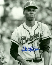 FELIX MANTILLA SIGNED 8X10 MILW BRAVES PHOTO #2