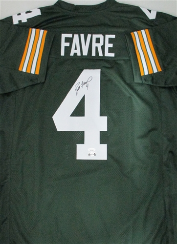 cheap for discount 5bbae 93367 BRETT FAVRE SIGNED CUSTOM PACKERS JERSEY
