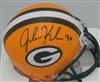 JOHN KUHN SIGNED PACKERS MINI HELMET