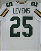 DORSEY LEVENS SIGNED CUSTOM PACKERS AWAY JERSEY