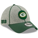 GREEN BAY PACKERS 2019 ON FIELD NEW ERA HAT CAP #4