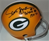 SCOTT HUNTER SIGNED PACKERS MINI HELMET W/ YEARS