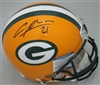 CHARLES WOODSON SIGNED FULL SIZE PACKERS AUTHENTIC HELMET - BCA