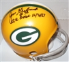 JIM GRABOWSKI SIGNED PACKERS MINI HELMET W/ ICE BOWL