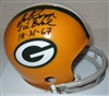 DICK CAPP SIGNED PACKERS MINI HELMET W/ ICE BOWL 12/31/67