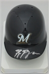 RYAN BRAUN SIGNED BREWERS MINI HELMET