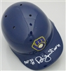 "ROBIN YOUNT SIGNED ""RETRO"" BLUE BREWERS FULL SIZE HELMET w/ HOF MVP - JSA"