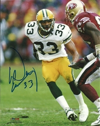 DOUG EVANS SIGNED PACKERS PHOTO #3