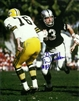 BEN DAVIDSON (d) SIGNED 8X10 RAIDERS PHOTO #1