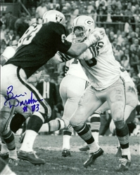 BEN DAVIDSON (d) SIGNED 8X10 RAIDERS PHOTO #3