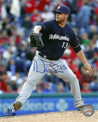 WILL SMITH SIGNED BREWERS 8X10 PHOTO #3
