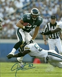 JEFF THOMASON SIGNED 8X10 EAGLES PHOTO #3