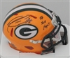DONALD DRIVER SIGNED PACKERS MINI HELMET W/ SB XLV