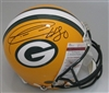 DONALD DRIVER SIGNED FULL SIZE PACKERS PRO LINE AUTHENTIC HELMET - JSA