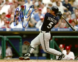 GEOFF JENKINS SIGNED 8X10 BREWERS PHOTO #8