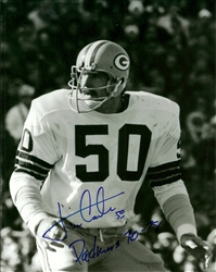 JIM CARTER SIGNED 8X10 PACKERS PHOTO #1