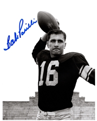 BABE PARILLI SIGNED 8X10 PACKERS PHOTO #2