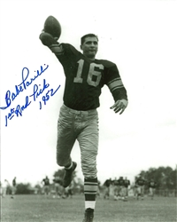 BABE PARILLI SIGNED 8X10 PACKERS PHOTO #3