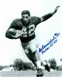AL CARMICHAEL SIGNED 8X10 PACKERS PHOTO #1