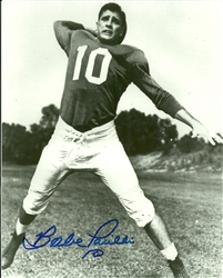 BABE PARILLI SIGNED 8X10 KENTUCKY PHOTO #1