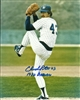 CHUCK PORTER SIGNED 8X10 BREWERS PHOTO #1 W/ '82 BREWERS