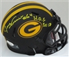 JERRY KRAMER SIGNED PACKERS CHROME MINI HELMET W/ HOF - JSA