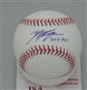 RYAN BRAUN SIGNED MLB BASEBALL w/ '2007 ROY - JSA