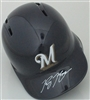 RYAN BRAUN SIGNED FULL SIZE BREWERS HELMET - JSA