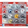 RIDDELL MICRO MINI HELMET SEC CONFERENCE COLLEGE SET