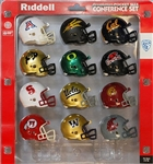 RIDDELL MICRO MINI HELMET PAC 12 CONFERENCE COLLEGE SET