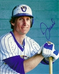JIM WOHLFORD SIGNED BREWERS 8X10 PHOTO #1