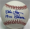 "MIKE HEGAN (d) SIGNED MLB BASEBALL W/ ""1970 BREWERS"""
