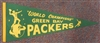 GREEN BAY PACKERS 1962 WORLD CHAMPIONS PENNANT
