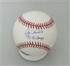 GEORGE DOC MEDICH SIGNED OFFICIAL MLB BASEBALL W/ 82 AL CHAMPS