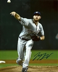 TAYLOR JUNGMANN SIGNED 8X10 BREWERS PHOTO #2
