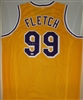 CHEVY CHASE SIGNED CUSTOM LA LAKERS FLETCH JERSEY - PSA/DNA