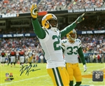 DAMARIOUS RANDALL SIGNED 8X10 PACKERS PHOTO #7