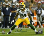QUINTEN ROLLINS SIGNED 8X10 PACKERS PHOTO #1