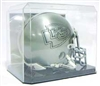 PROTECH DELUXE FOOTBALL MINI HELMET DISPLAY CASE