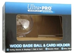 ULTRA PRO CARD AND BASEBALL HOLDER